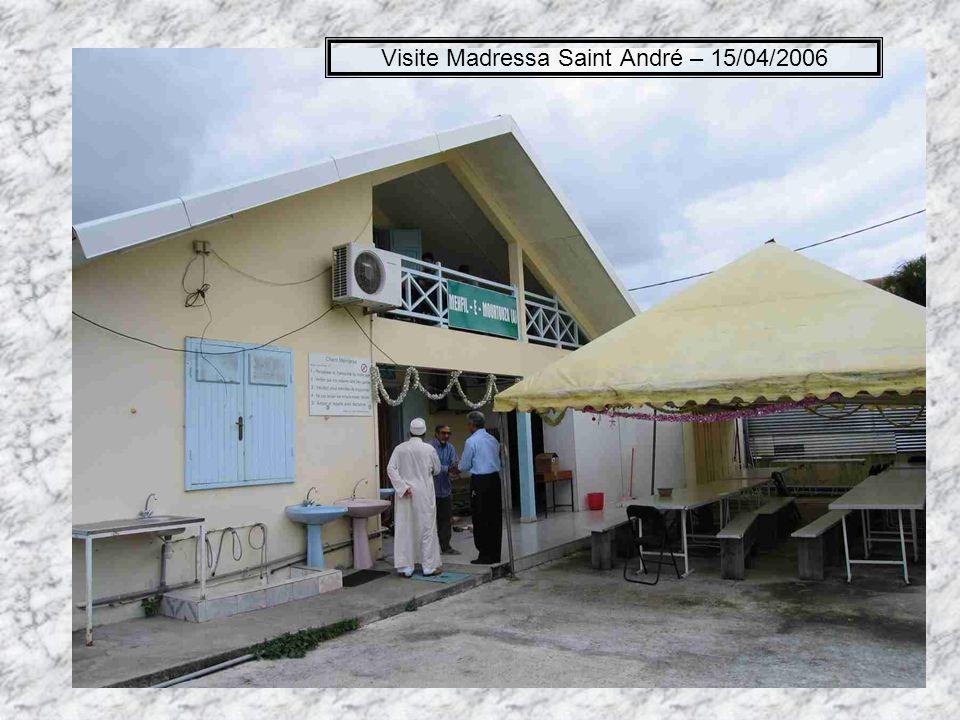 Visite Madressa Saint André – 15/04/2006