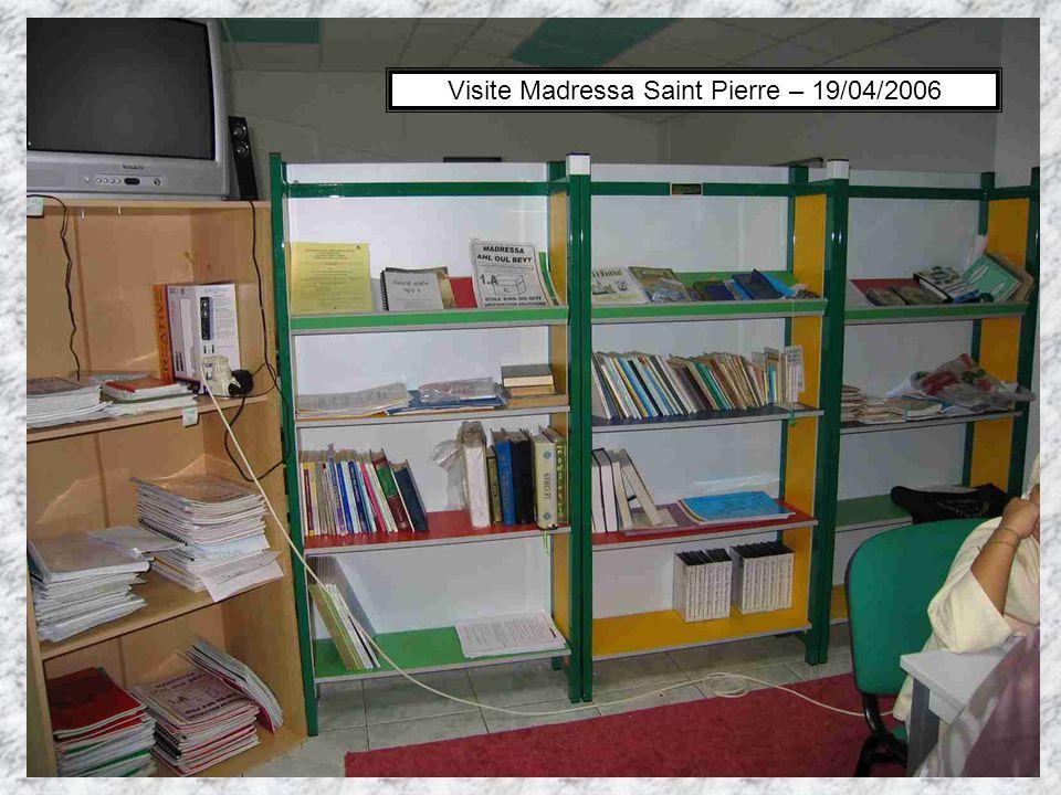 Visite Madressa Saint Pierre – 19/04/2006