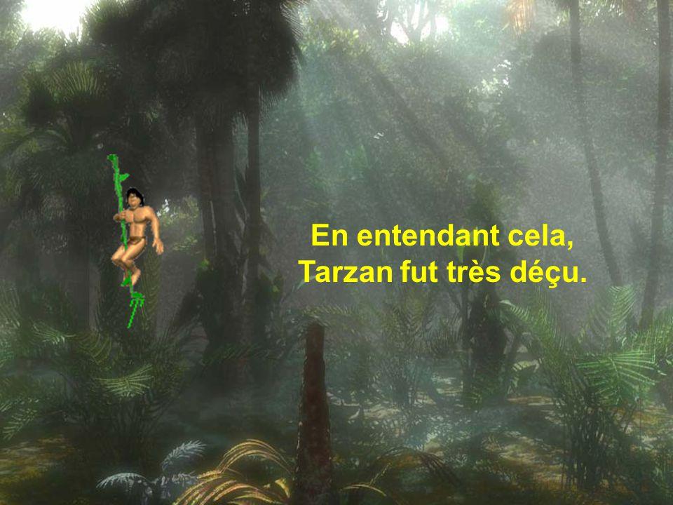 Ecoute, Tarzan, tu ne peux pas faire autant de lessives à la suite, ça n'est pas bon pour le linge ni pour la machine ; tu devras attendre 2 ou 3 jour