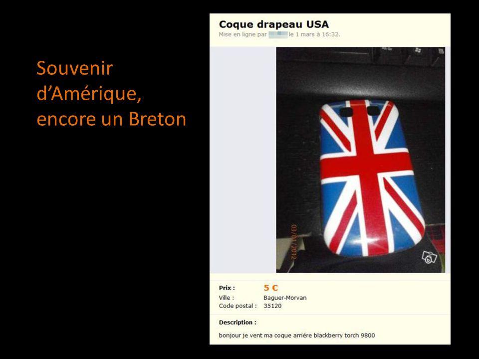 Souvenir dAmérique, encore un Breton