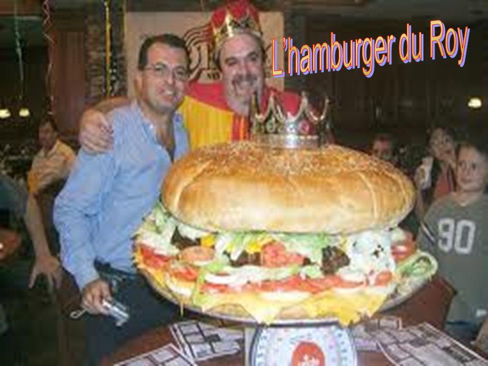 Un hamburger de 30 cm de diamètre, cest bon ?