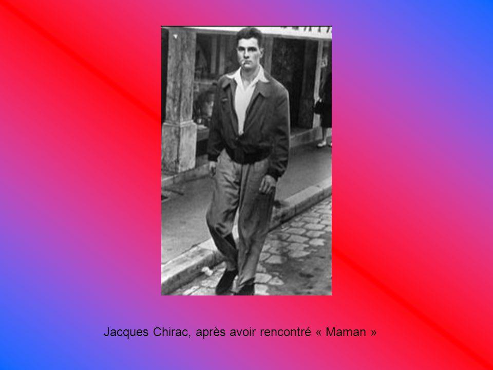 Jacques Chirac à 36 ans, enfin sans clope!