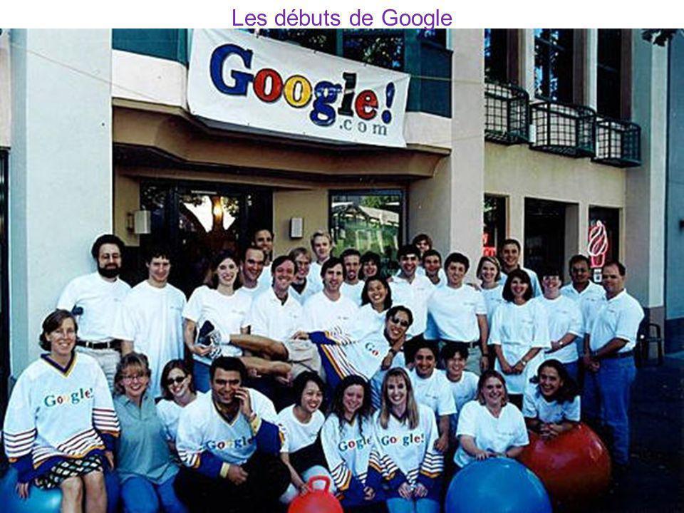 Les débuts de Google