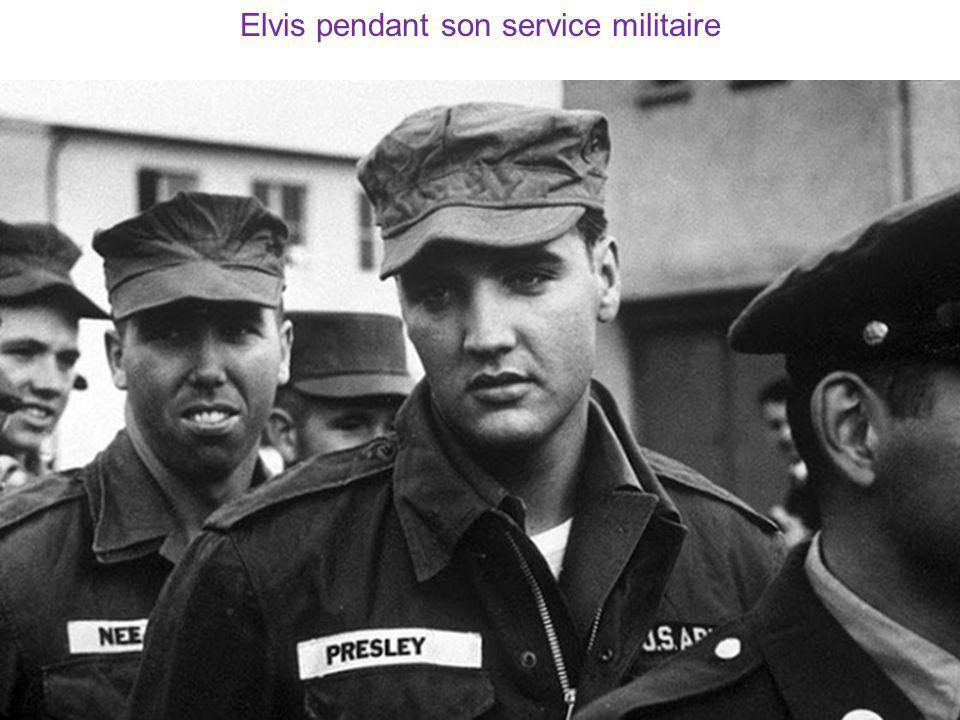 Elvis pendant son service militaire