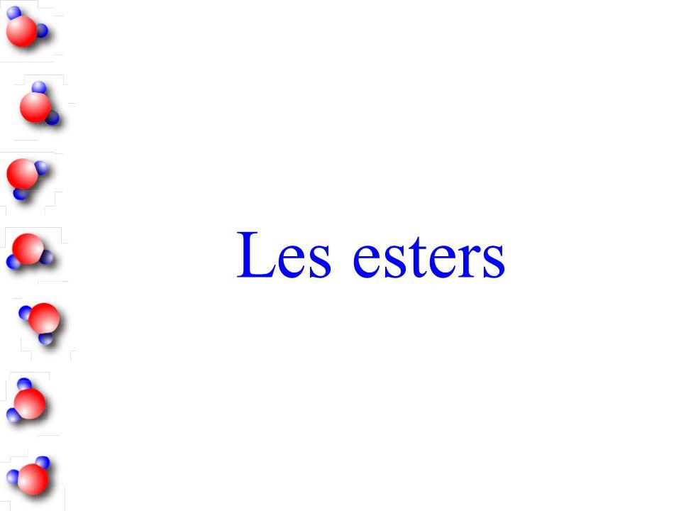 Les esters