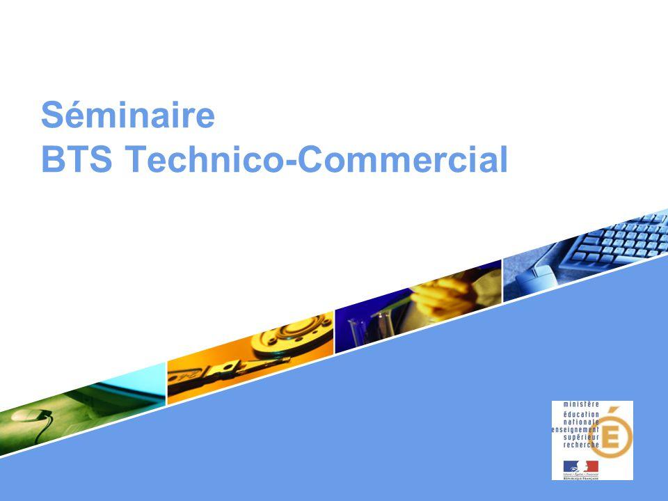 Séminaire BTS Technico-Commercial.