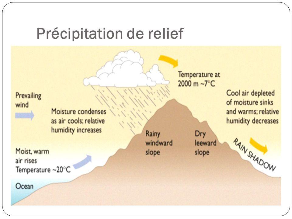Précipitation Frontale DES LIENS AU COURS: Où au Canada va-t-on trouver fréquemment la précipitation frontale.