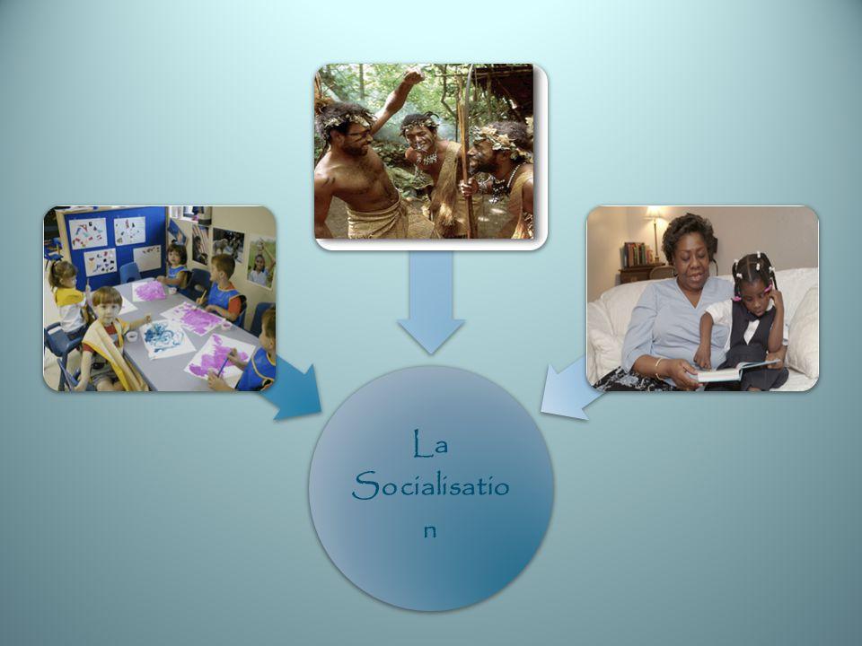 Anthropologues Les anthropologues perçoivent la socialisation comme étant les moyens par lesquels des sociétés humaines permanentes sétablissent.