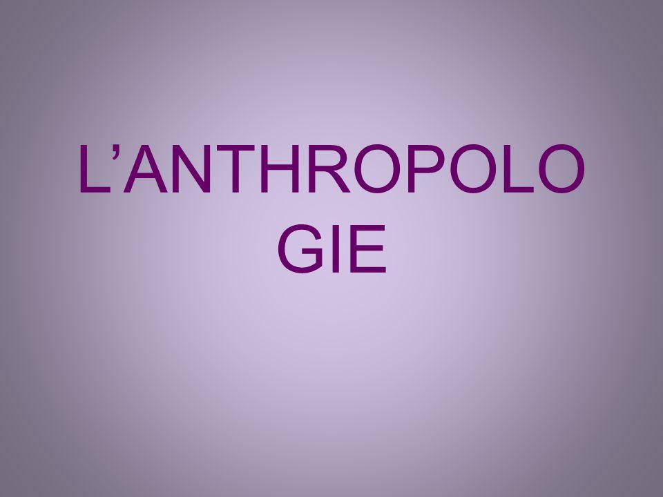 LANTHROPOLO GIE