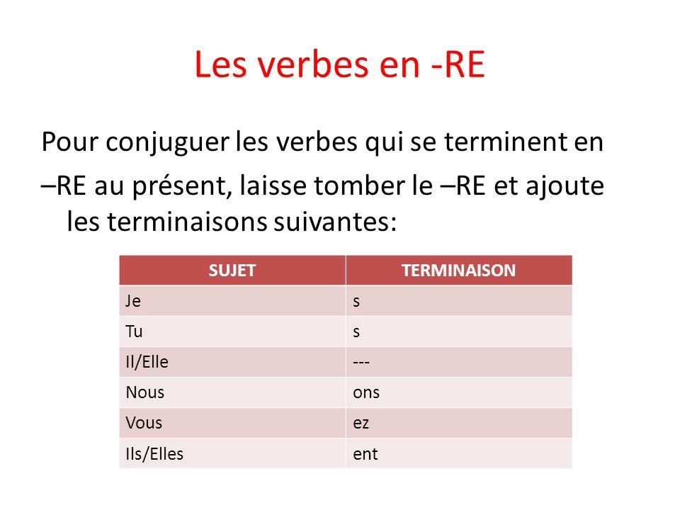 franse regelmatige werkwoorden / verbes réguliers - lessons - tes teach