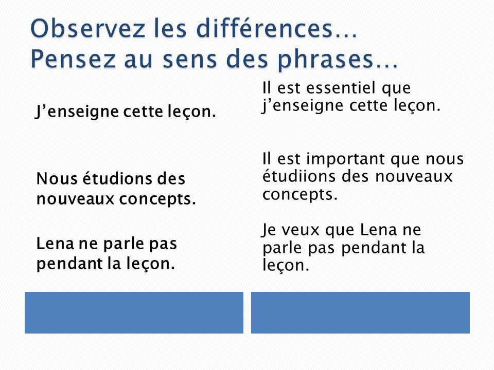 Quelle est la différence entre les deux côtés.Pensez au sens!!!.
