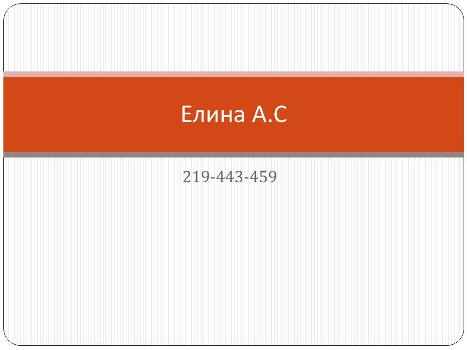 219-443-459 Елина А. С