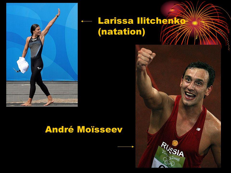 Larissa Ilitchenko (natation) André Moїsseev