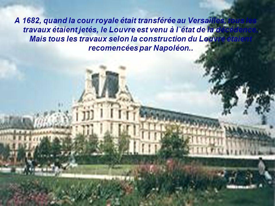La forteresse médiavale, qui dans la conséquence c`est transformée en palais, était construite par Philippe Auguste à la fin du 12-ème siècles…