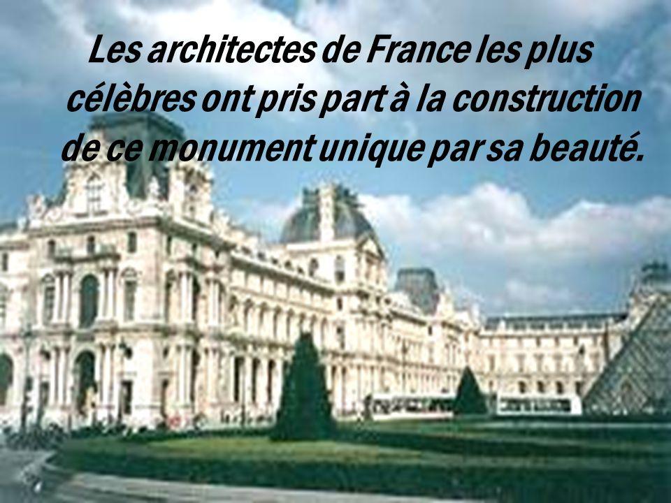 A 1682, quand la cour royale était transférée au Versailles, tous les travaux étaient jetés, le Louvre est venu à l`état de la décédence. Mais tous le