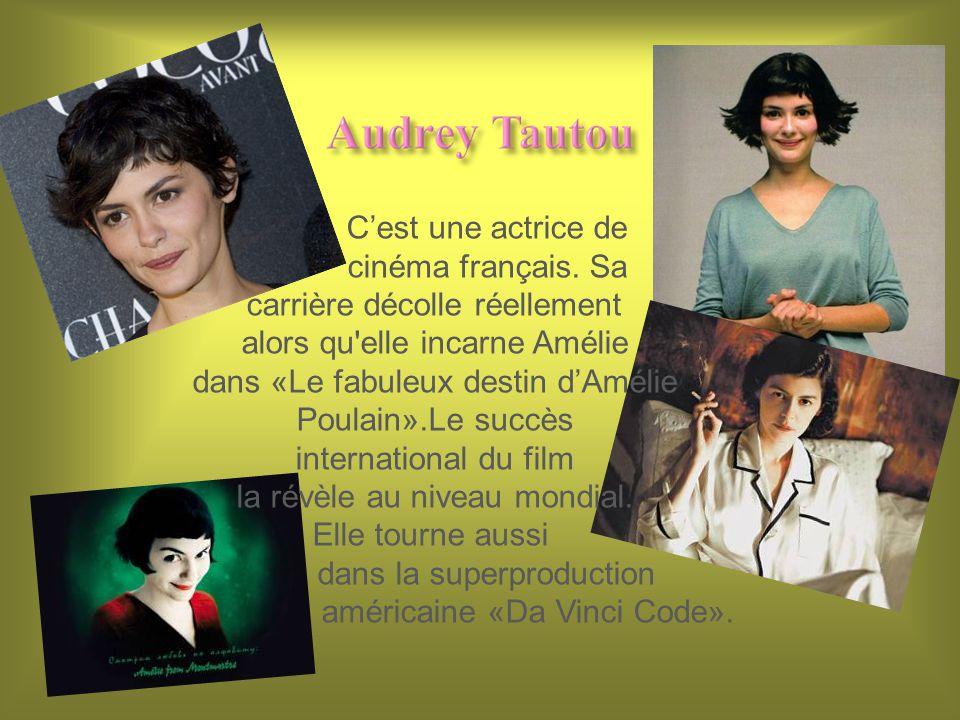 Cest une actrice de cinéma français.