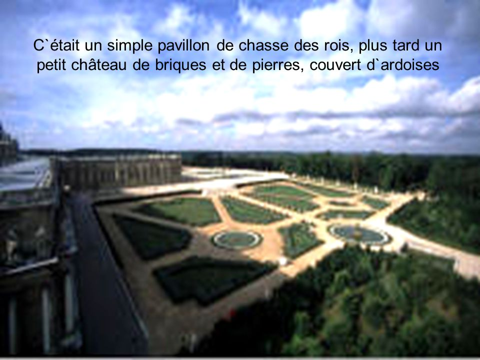 Louis XIII ordonna à son architecte Philibert Le Roi de bâtir un nouveau château sur la place du vieux logis.