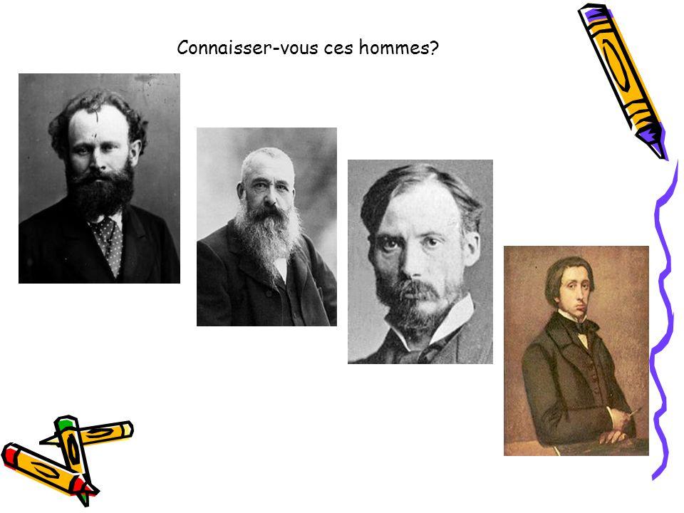 Connaisser-vous ces hommes?