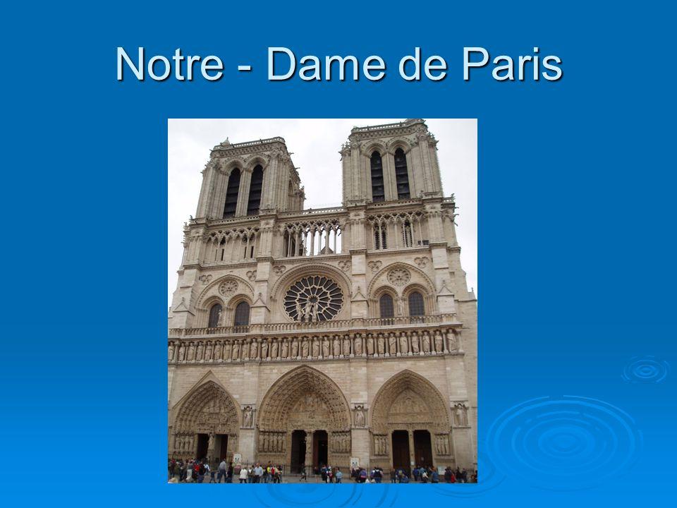 Lîle de la Cité – c`est le centre historique de Paris.