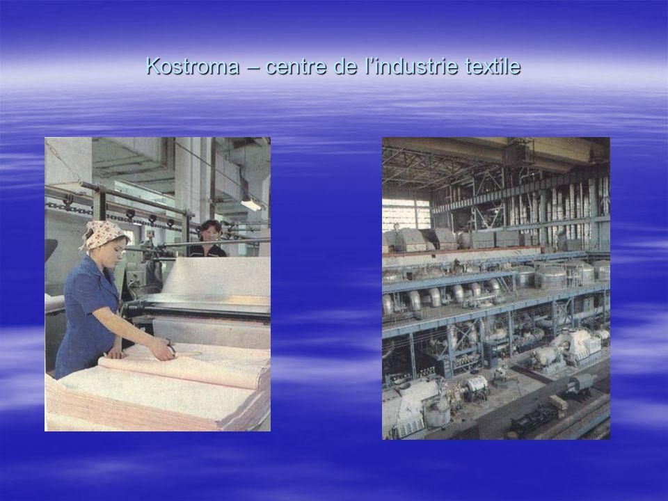 Kostroma – centre de lindustrie textile