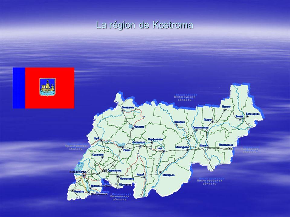 La région de Kostroma