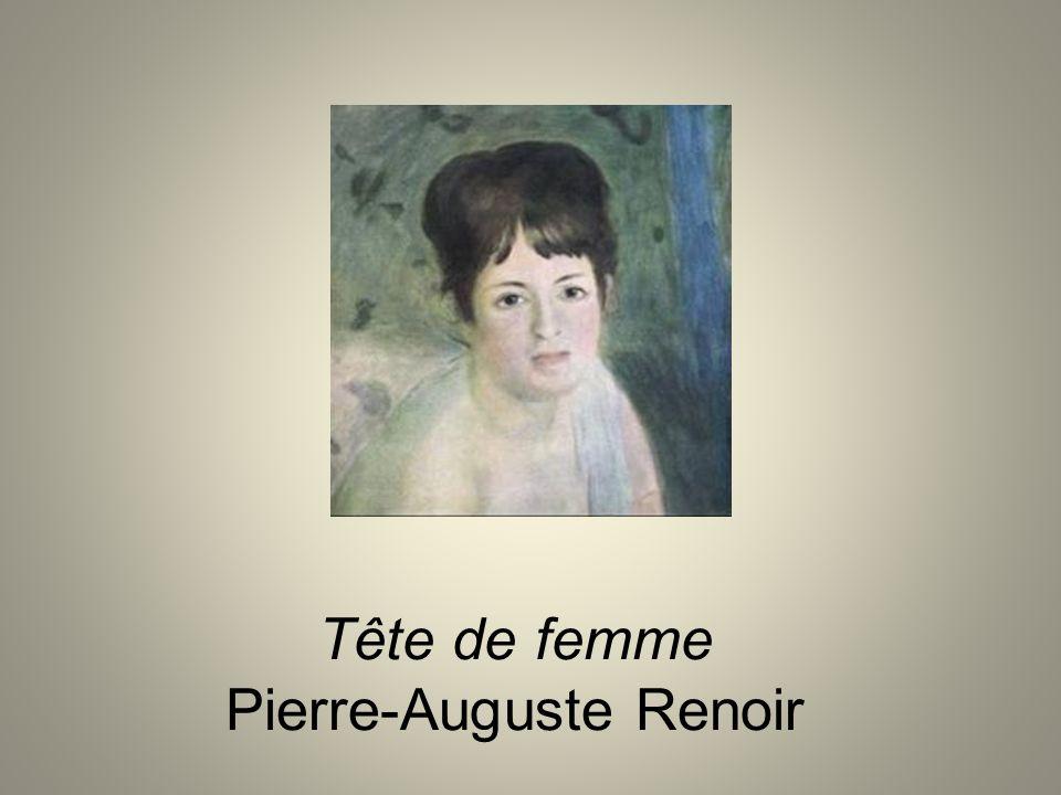 Tête de femme Pierre-Auguste Renoir