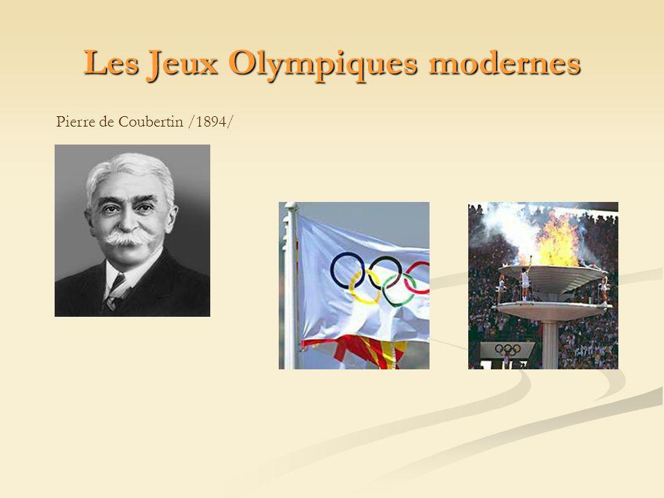 Pierre de Coubertin /1894/ Les Jeux Olympiques modernes