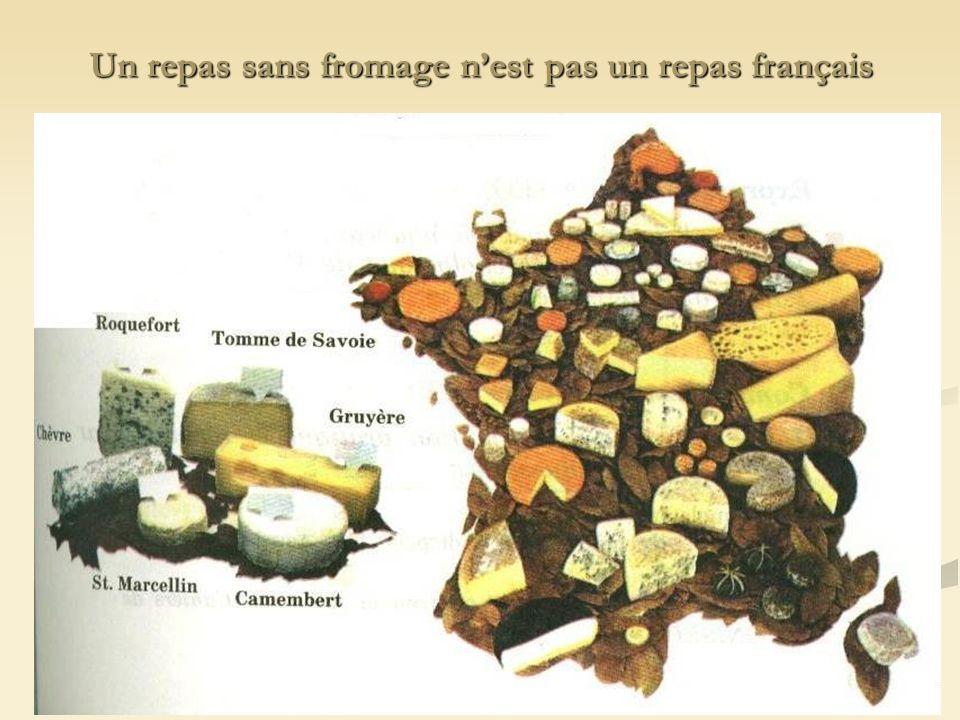 Un repas sans fromage nest pas un repas français