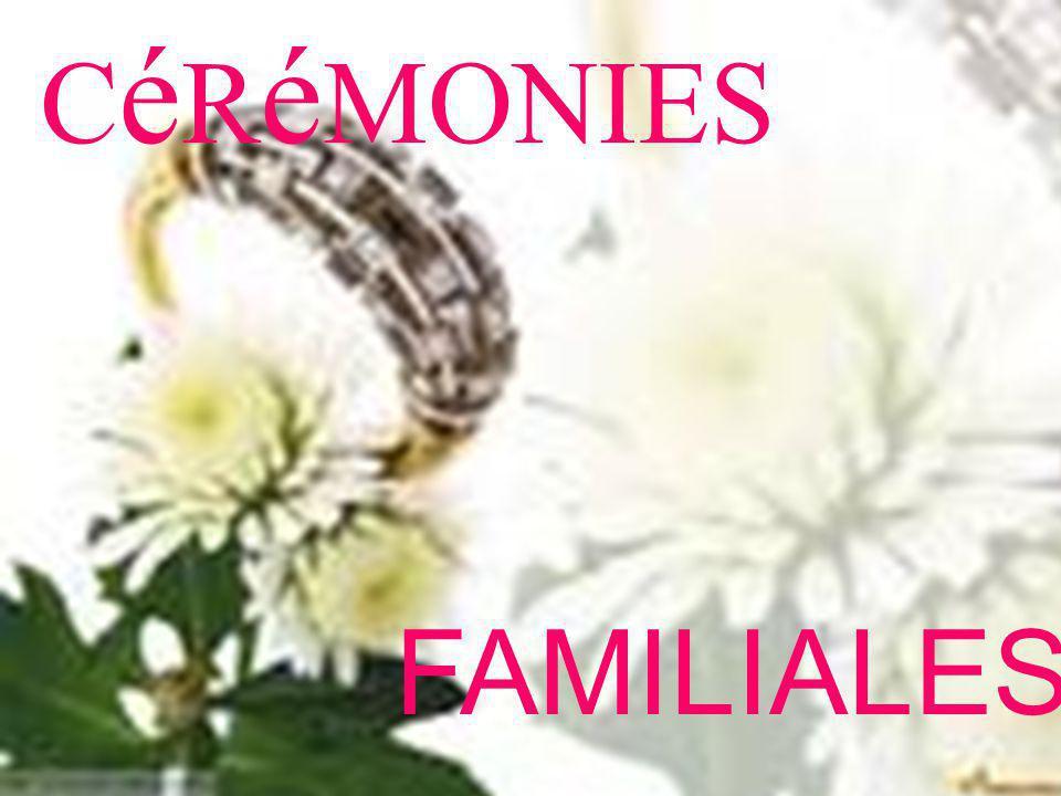 C é R é MONIES FAMILIALES