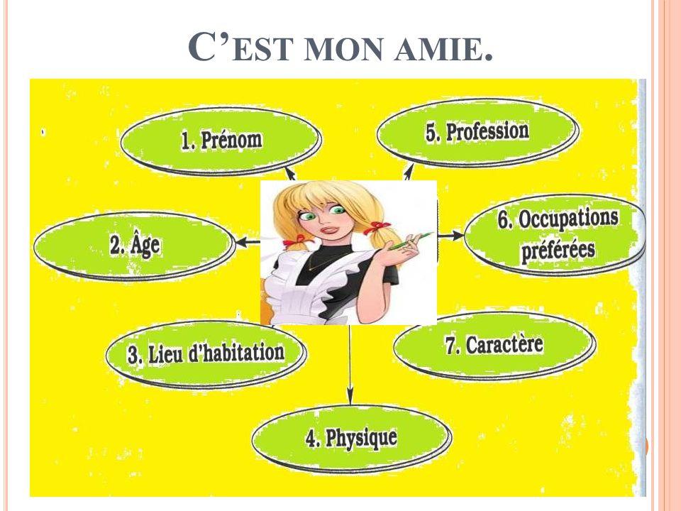 C EST MON AMIE.