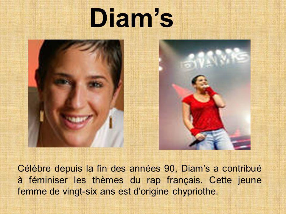 Célèbre depuis la fin des années 90, Diams a contribué à féminiser les thèmes du rap français.