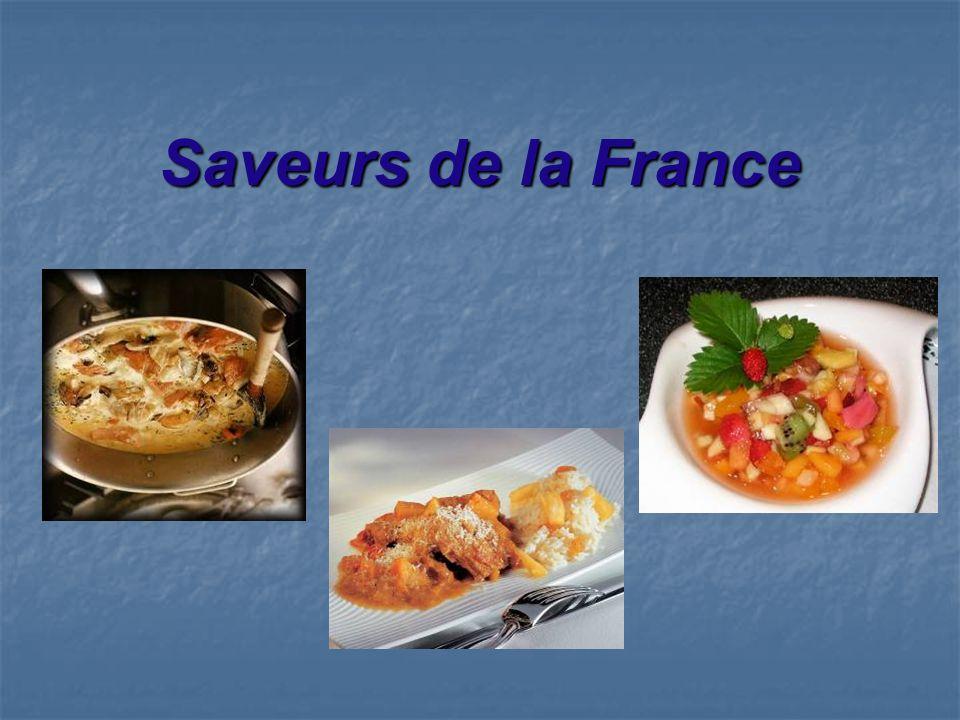Saveurs de la France