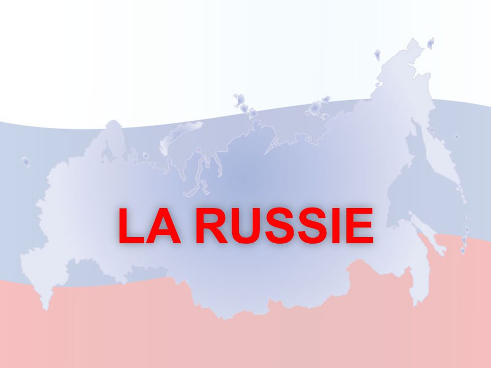 Informations générales SuperficieLangue officielle Population 17 075 400 km2Le russe142 millions dhabitants