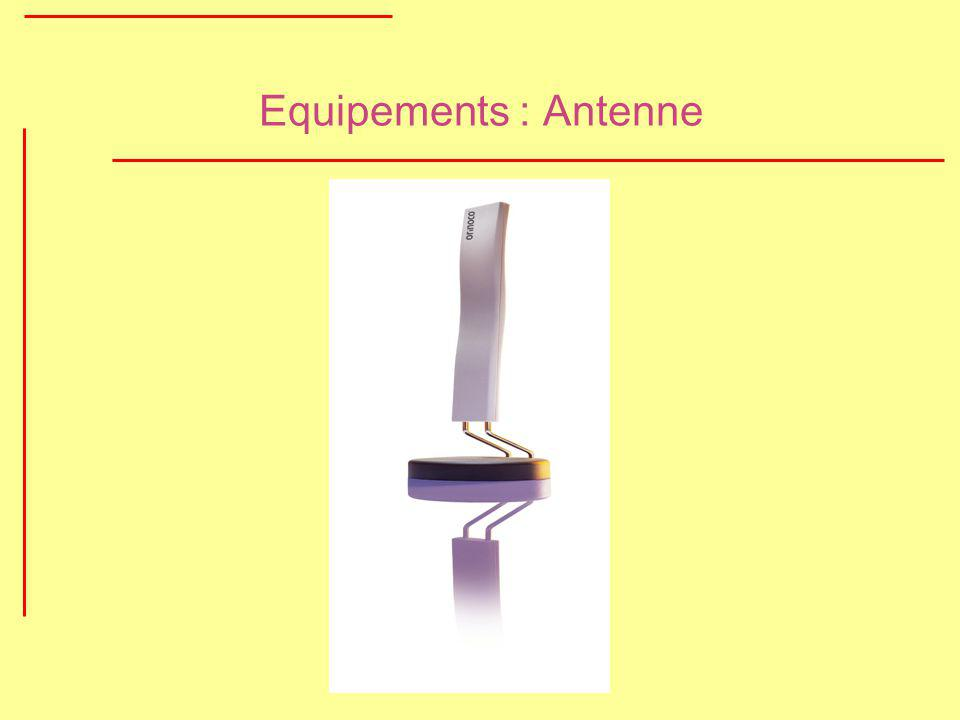 Equipements : Antenne