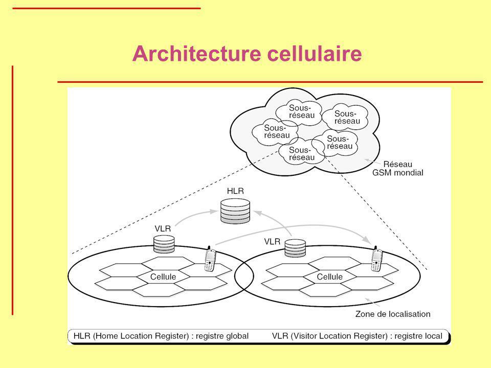 Architecture cellulaire