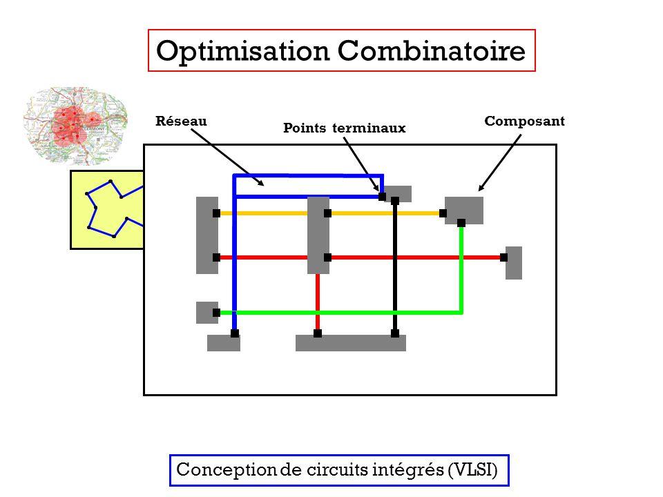 Optimisation Combinatoire Conception de circuits intégrés (VLSI)