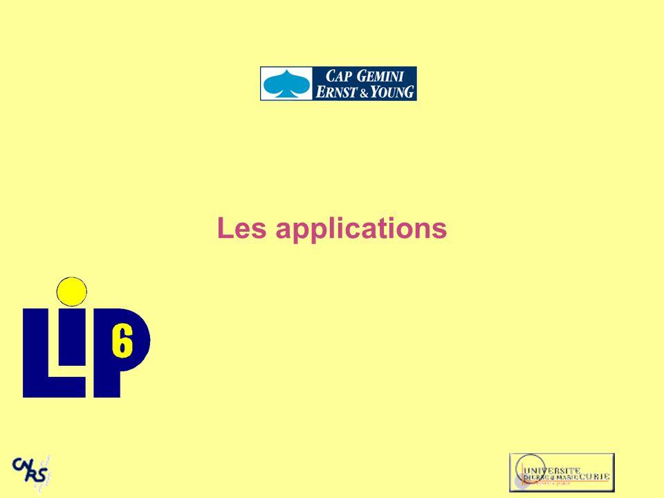 Les applications