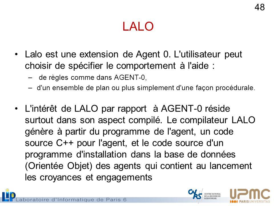 48 LALO Lalo est une extension de Agent 0.