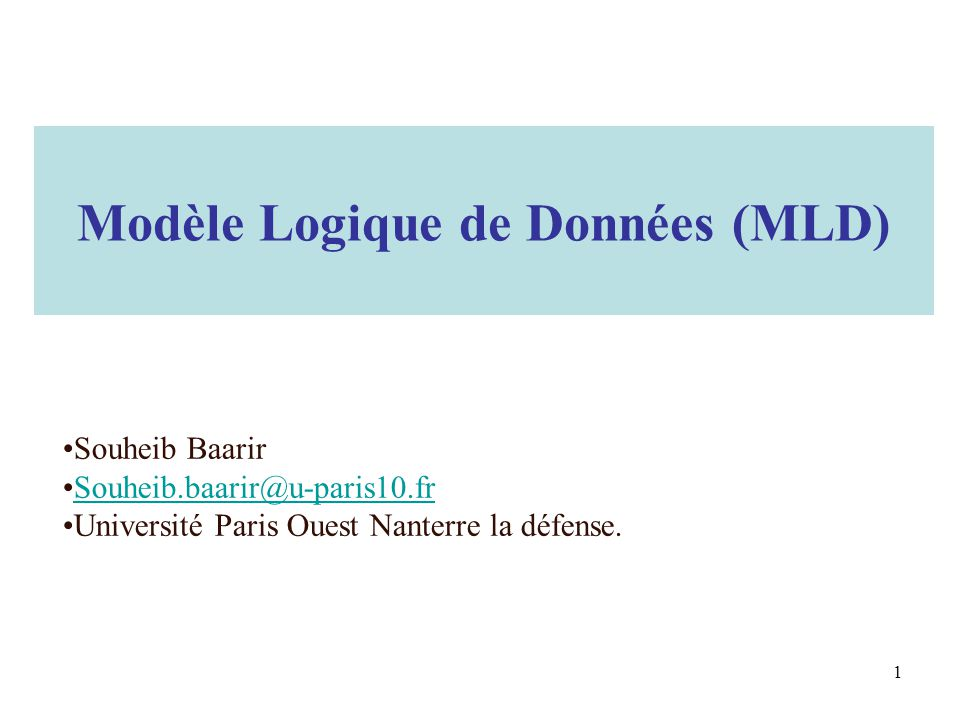 Quel formalisme .Norme CODASYL : –Conference On Data SYstems Languages.