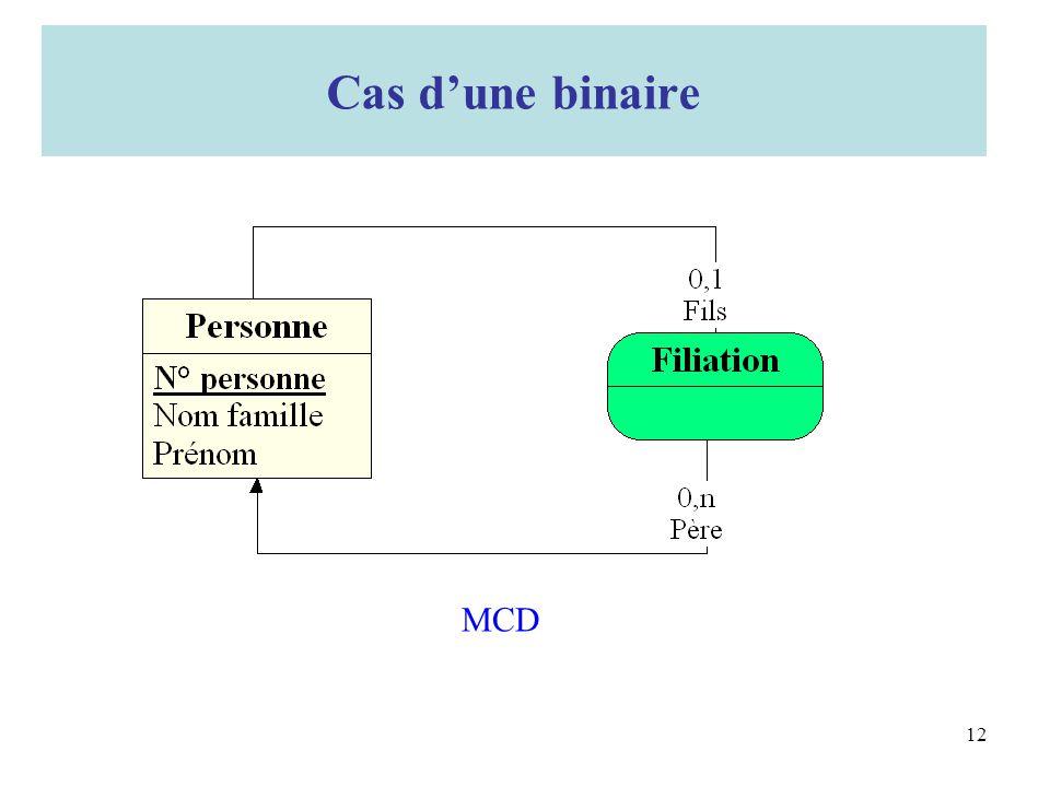 2. Cas dune binaire MCD Cas dune binaire 12