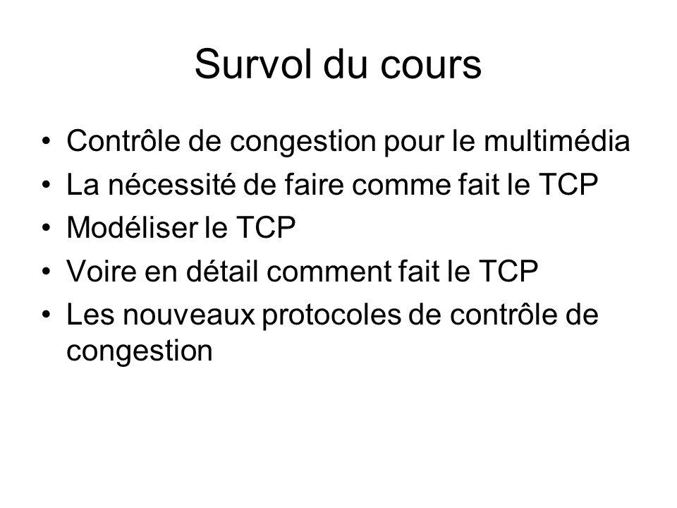 Comment faire le TCP-Friendly .