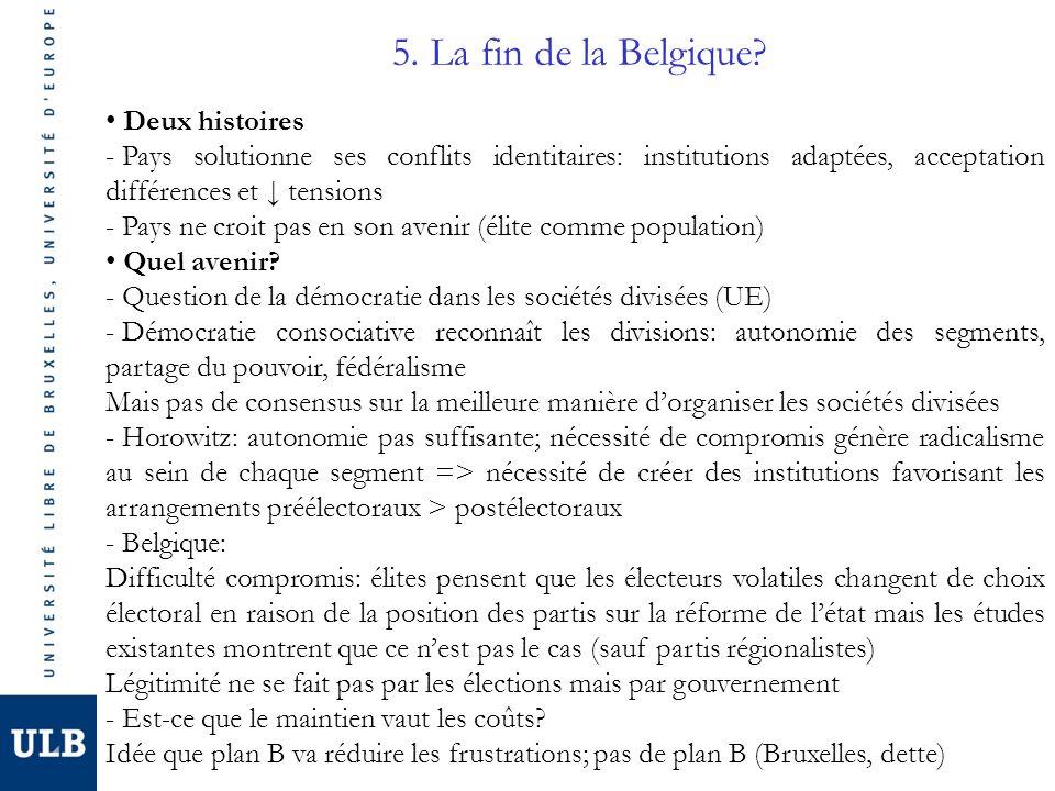 5. La fin de la Belgique.