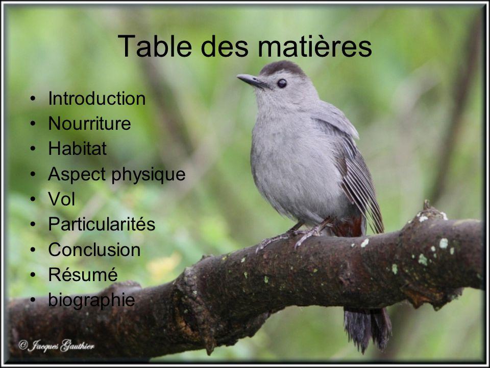 biographie bestioles http://www.bestioles.ca/oiseaux/moqueur- chat.html