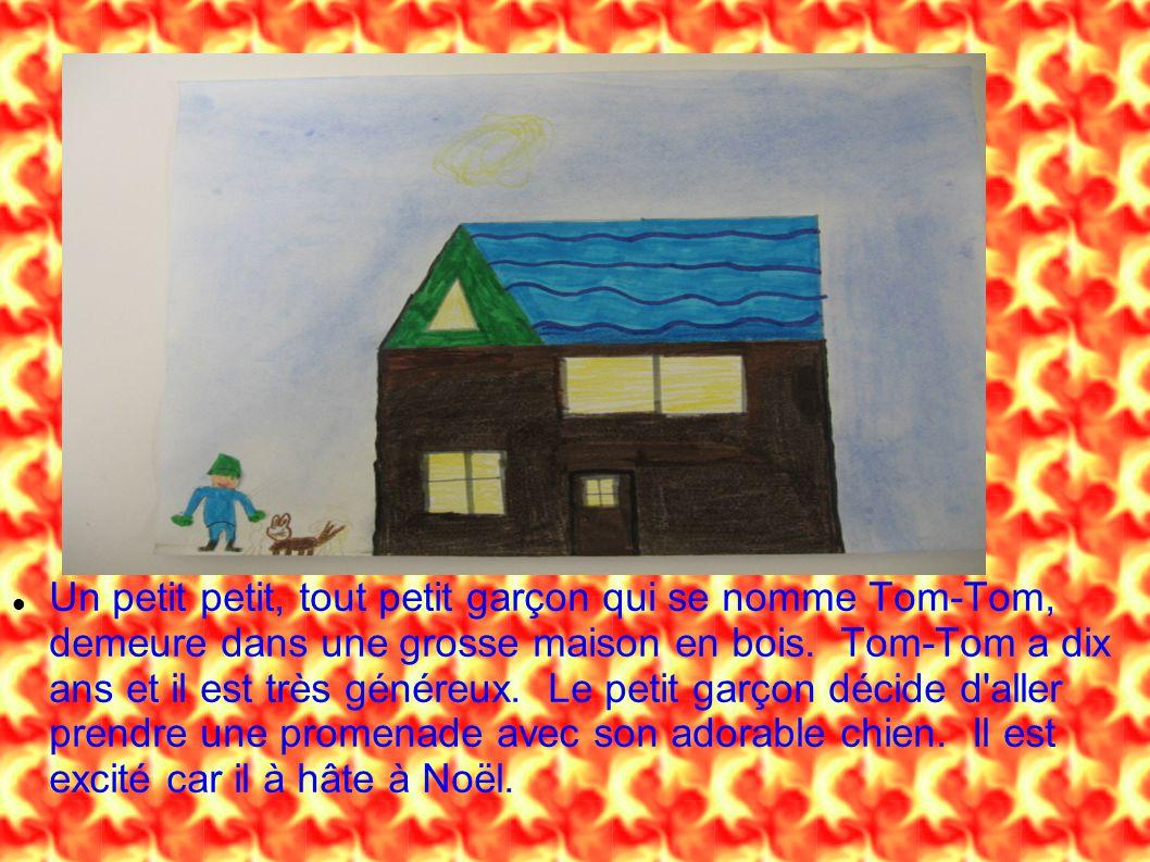 Un petit petit, tout petit garçon qui se nomme Tom-Tom, demeure dans une grosse maison en bois. Tom-Tom a dix ans et il est très généreux. Le petit ga