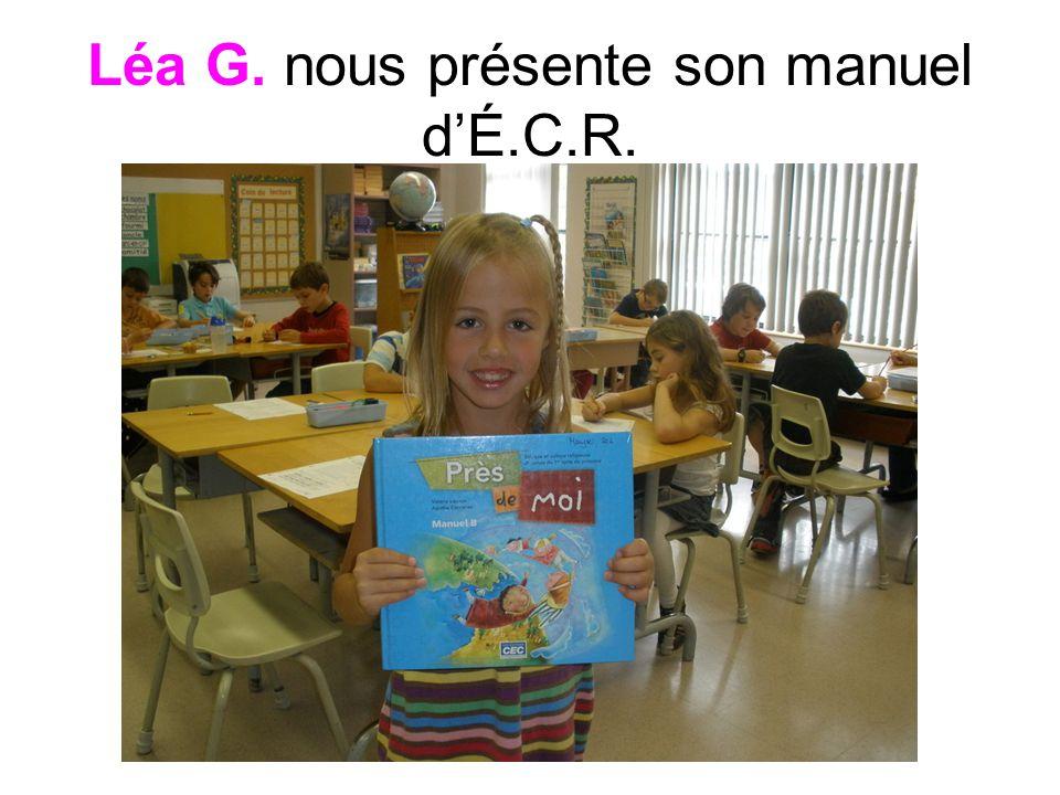 Léa G. nous présente son manuel dÉ.C.R.