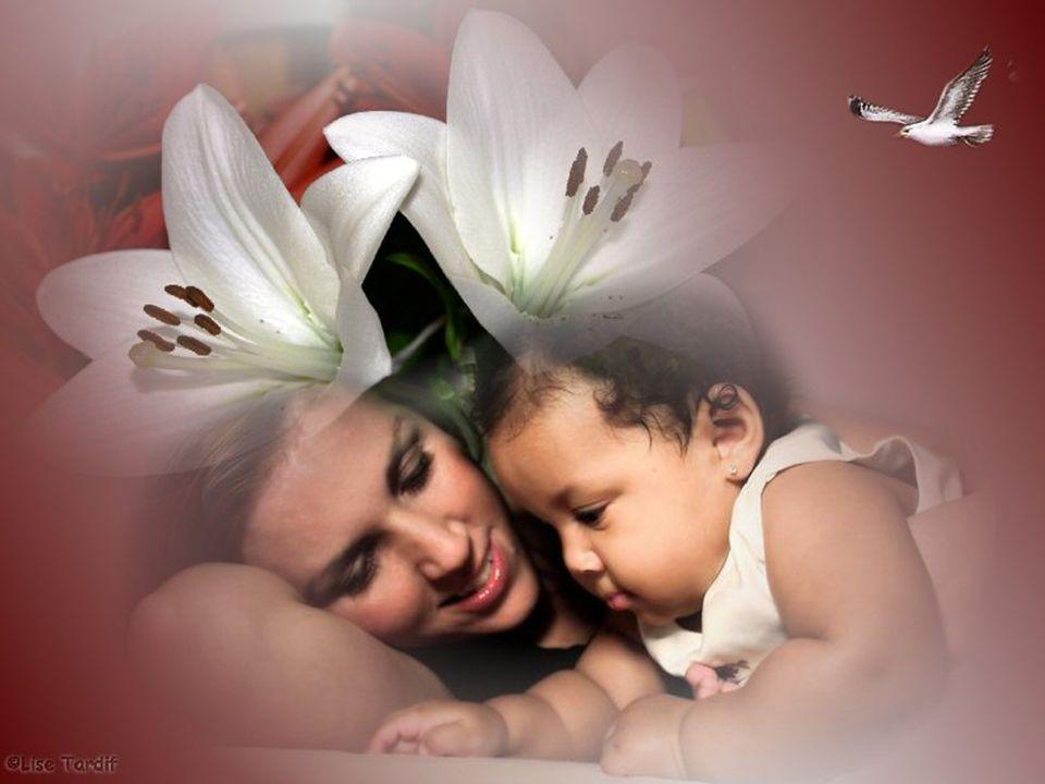 Une maman est un cadeau de la vie. Un ange créé par la Main Divine. Un présent à découvrir quotidiennement. Une maman douceur et câline, que c'est dou