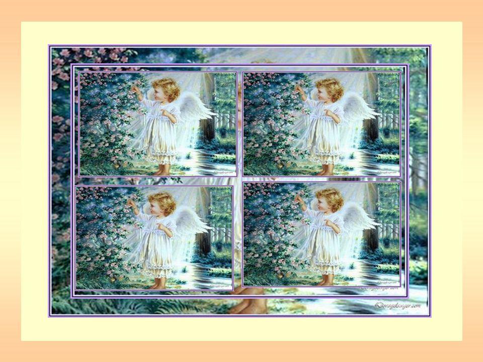 Qui sont les anges de notre enfance… Là où règne la paix et lamour.