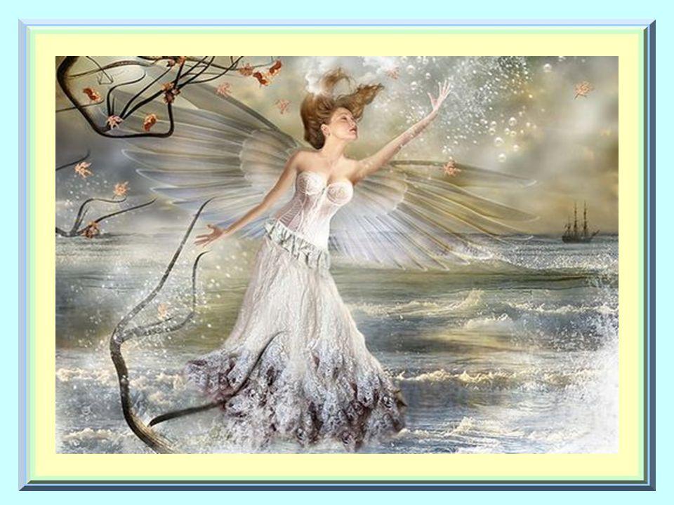 Elle veut voler à travers les cieux. Elle vous guide vers des chemins où la paix règne.