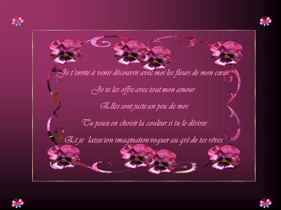 Les fleurs de mon coeur