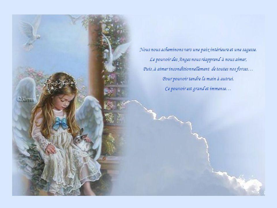Nous nous acheminons vers une paix intérieure et une sagesse.